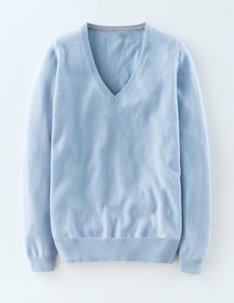 cashmere relaxed vneck